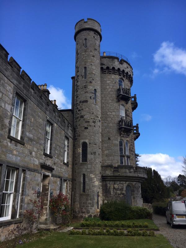 commercial window cleaning historic castle fife scotland. Black Bedroom Furniture Sets. Home Design Ideas