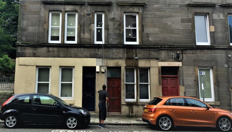Window cleaning in Bonnington, Edinburgh