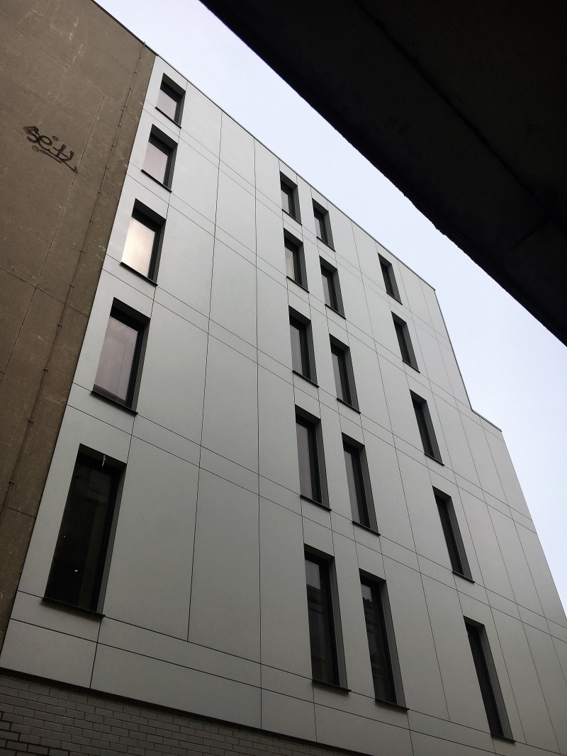 Commercial Window Cleaning - Rose St, Edinburgh