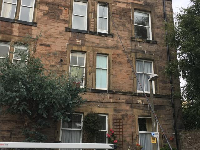 Blackford area Edinburgh - Post let Window Cleaning