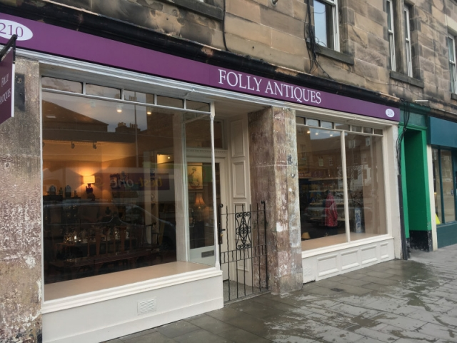 Commercial Cleaning Edinburgh - Folly Antiques