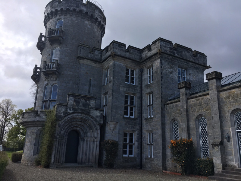 Commercial Window Cleaning Historic Castle Fife