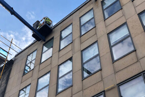 MEWP Window Cleaning in Edinburgh