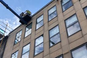 MEWP Window Cleaning in Edinburgh